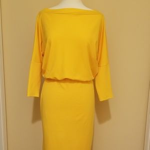 Dresses & Skirts - Women's Body Con Midi Dress